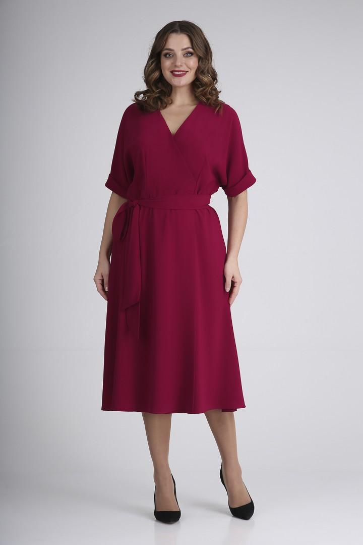 Платье Elga 01-724 вишня