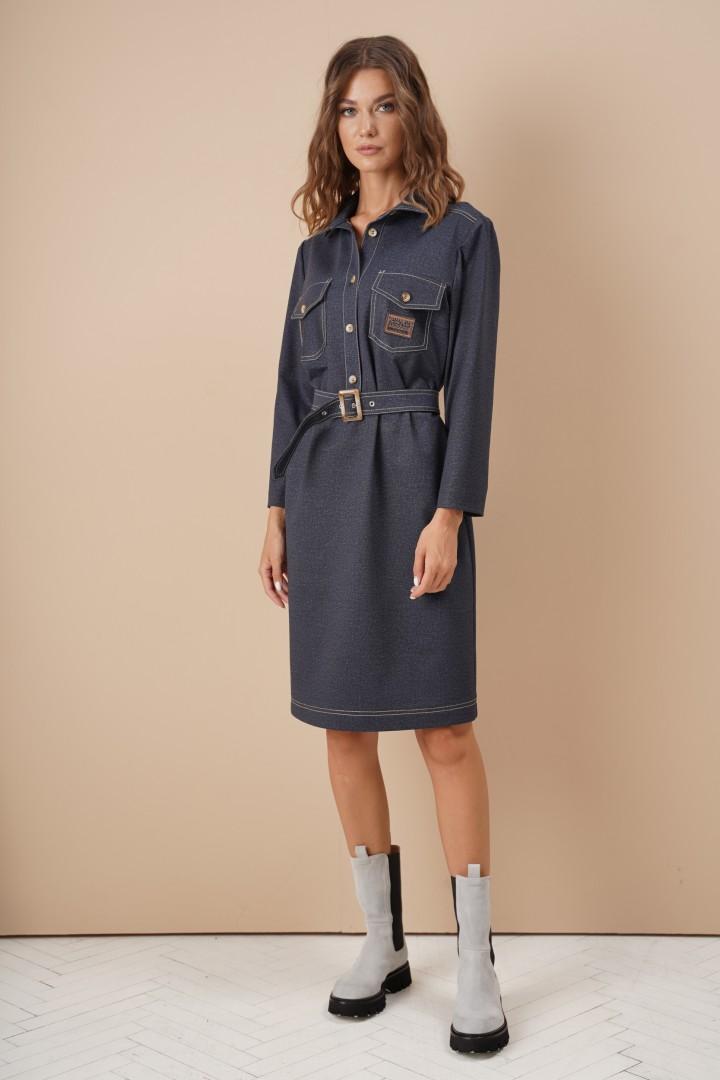 Платье Фантазия Мод 3996 джинс