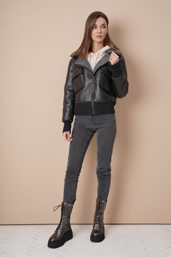 Куртка Фантазия Мод 4066 черный