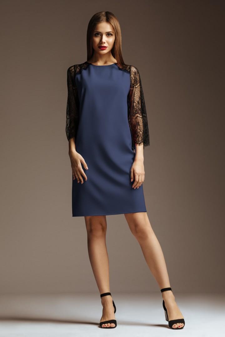 Платье GlasiO 5777-3 (42-52) синий
