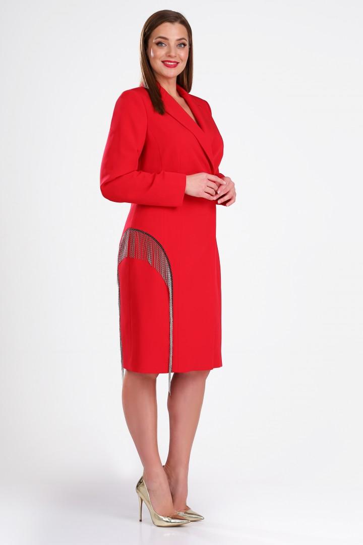 Платье Golden Valley 4786 красный