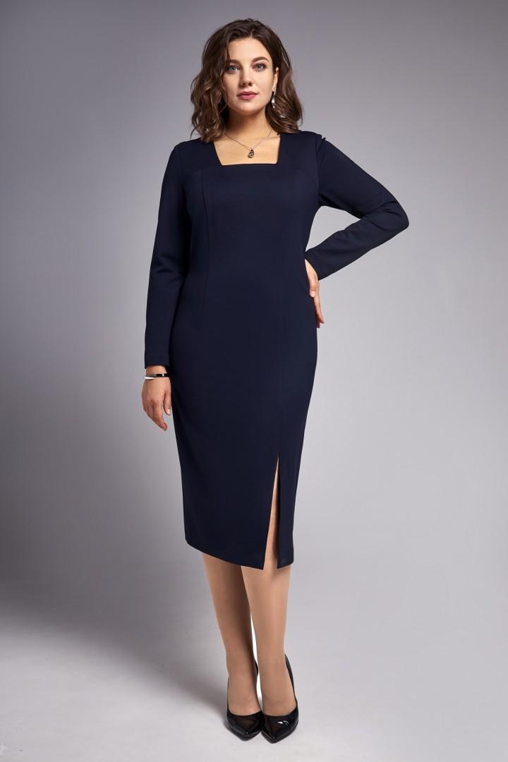 Платье Ива 1319 синий
