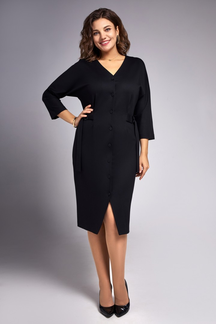 Платье Ива 1320 черный