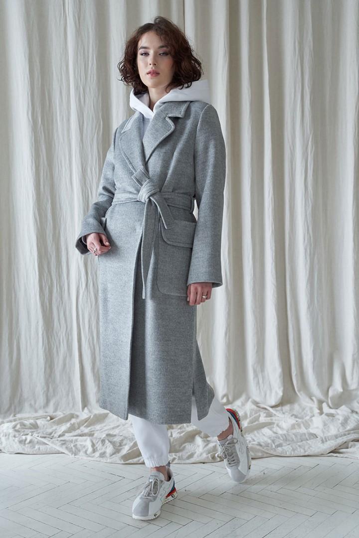 Пальто JRSy 1947 серый