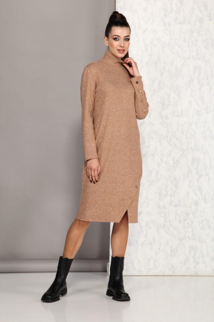 Платье Карина Делюкс М-9947А песок
