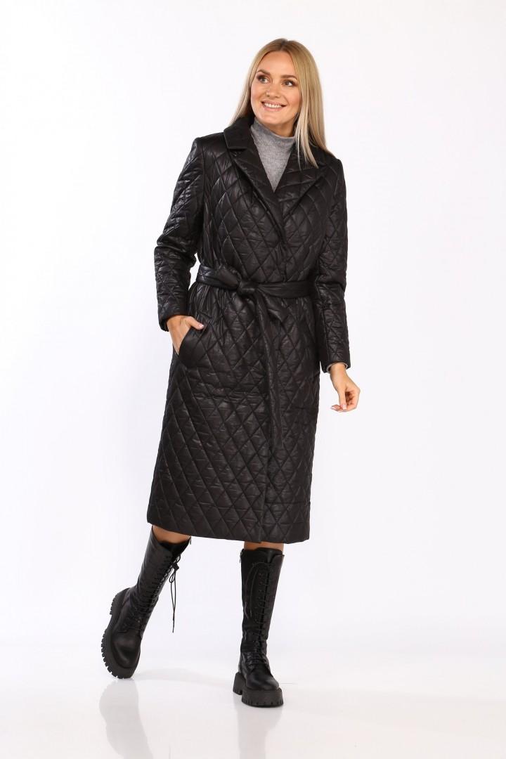 Пальто Карина Делюкс М-9960 черный
