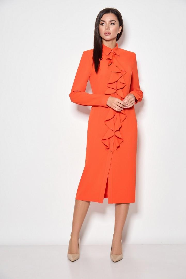 Платье Кокетка и К 891-1 оранжевый