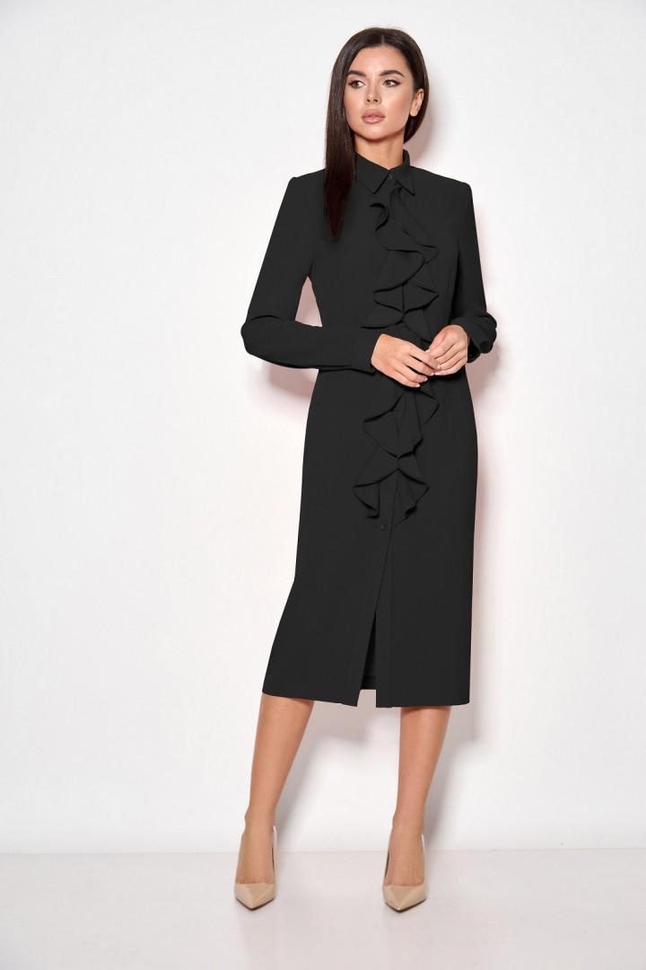 Платье Кокетка и К 891 черный
