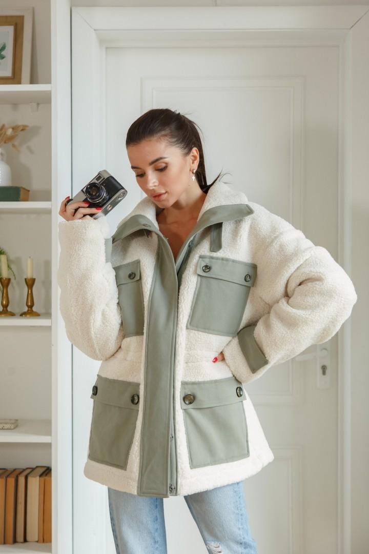 Куртка ЛадисЛайн 1381 белый