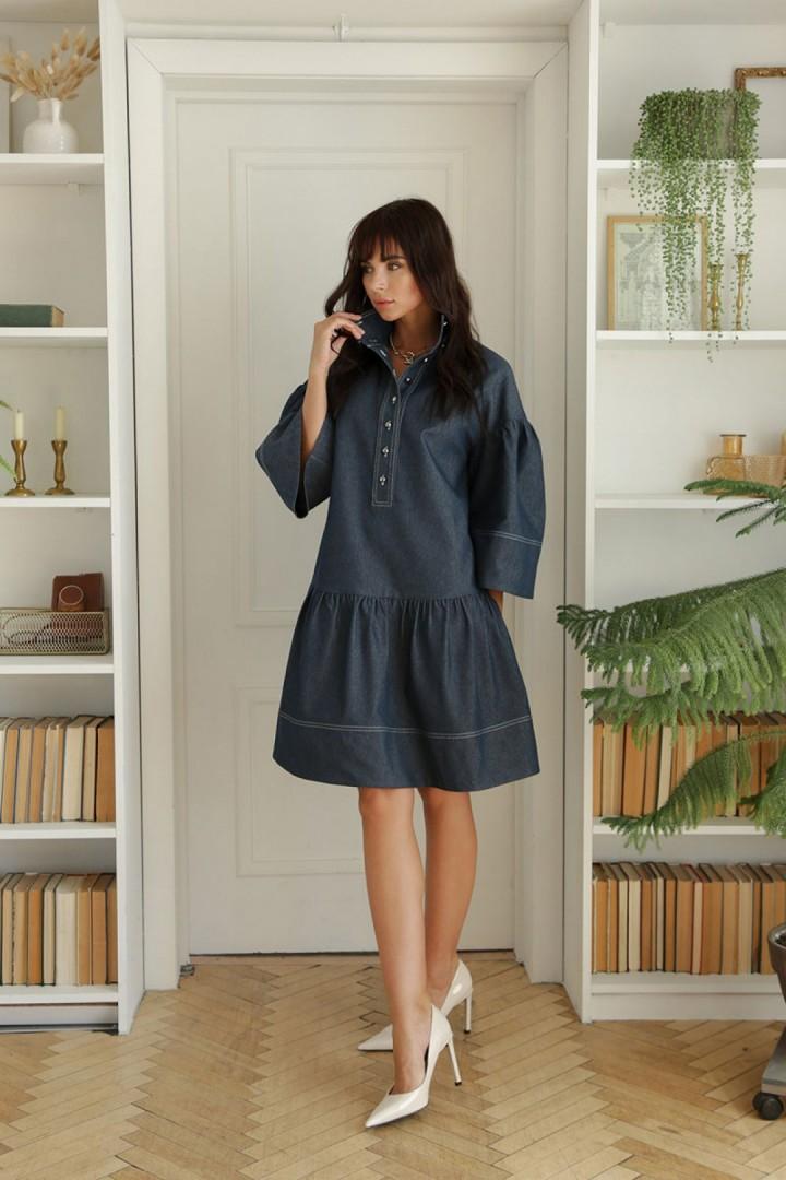 Платье ЛадисЛайн 1387 джинс