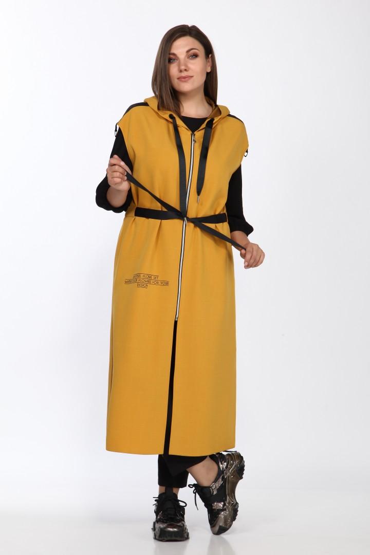 Костюм LadySecret 2769 черный + горчица