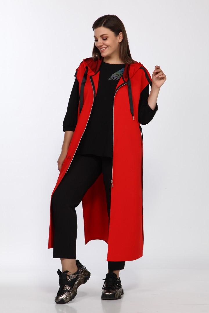 Костюм LadySecret 2769 черный +красный