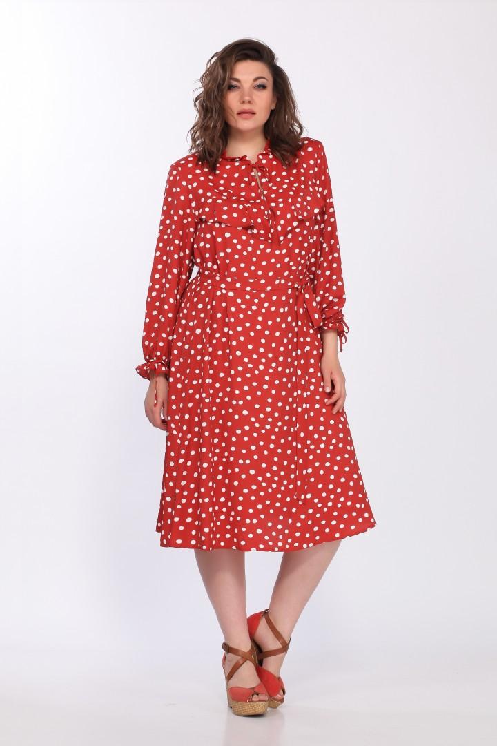 Платье LadySecret 3670 алый