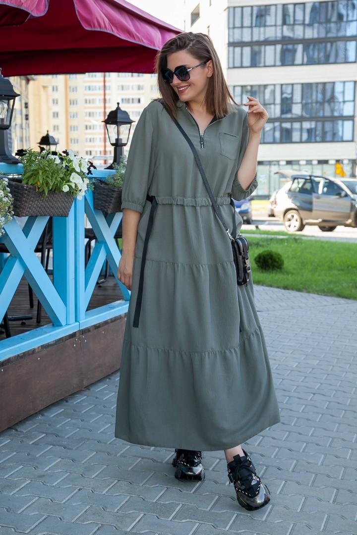 Платье LadySecret 3683 хаки