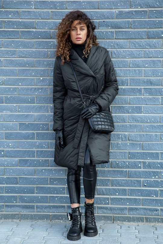 Пальто LadySecret 5003 черный