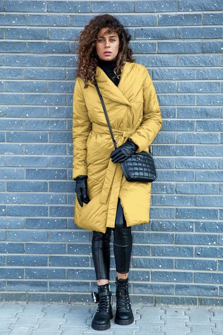 Пальто LadySecret 5003 янтарный