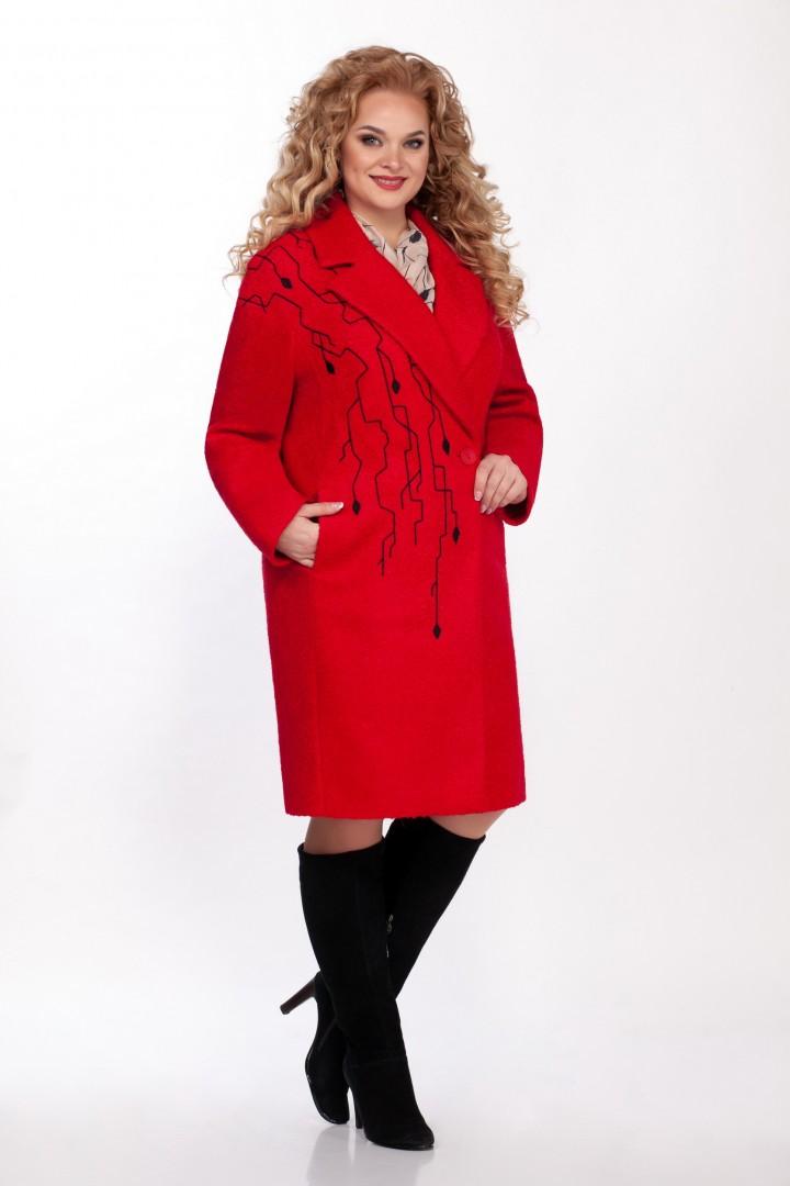 Пальто LaKona 1340 красный