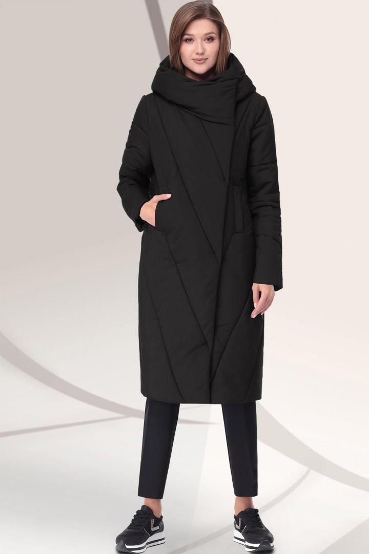 Пальто LeNata 11043 черный