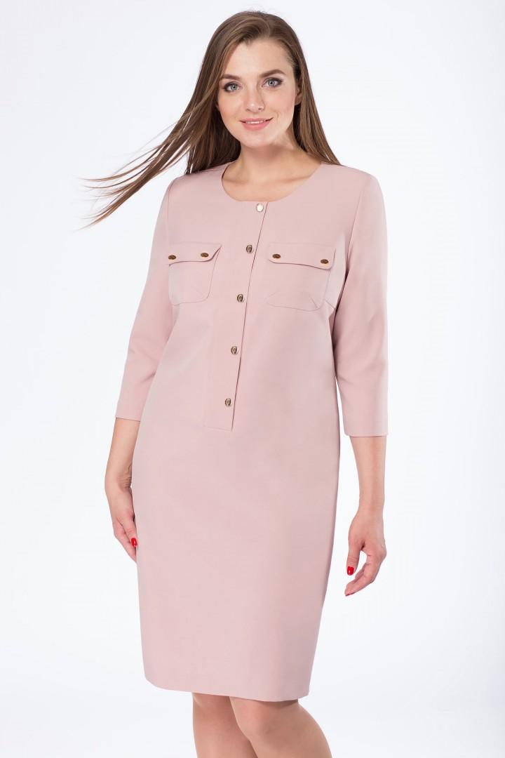 Платье Линия Л 1668 розовый