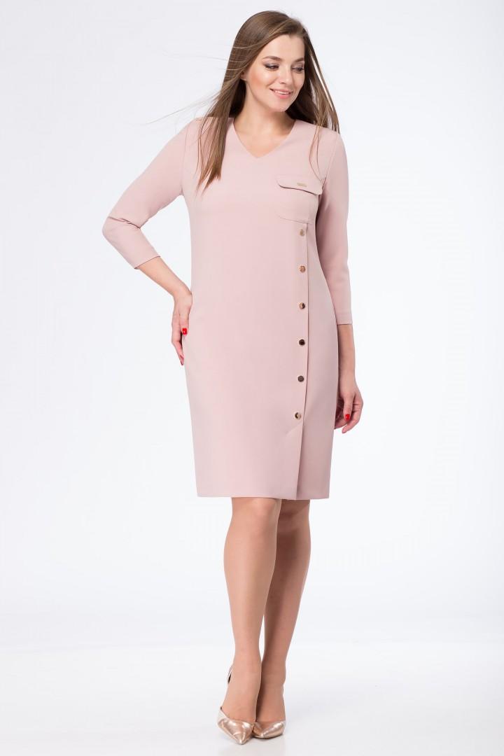 Платье Линия Л 1671 розовый