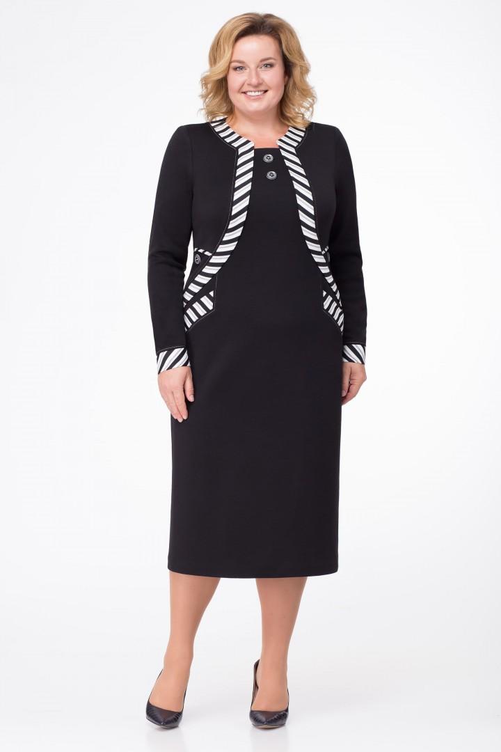 Платье Линия Л 169 черный