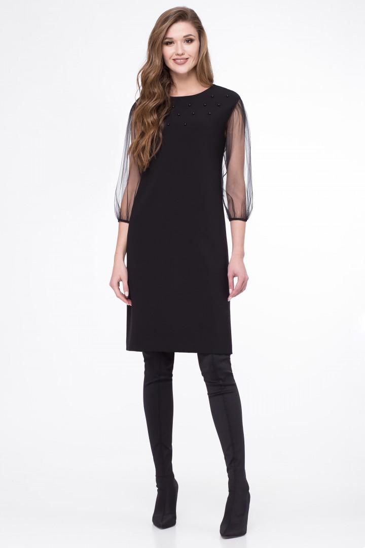 Платье Линия Л 1694 черный