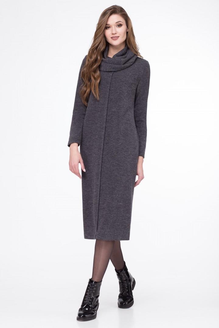 Платье Линия Л 1703 темно-серый