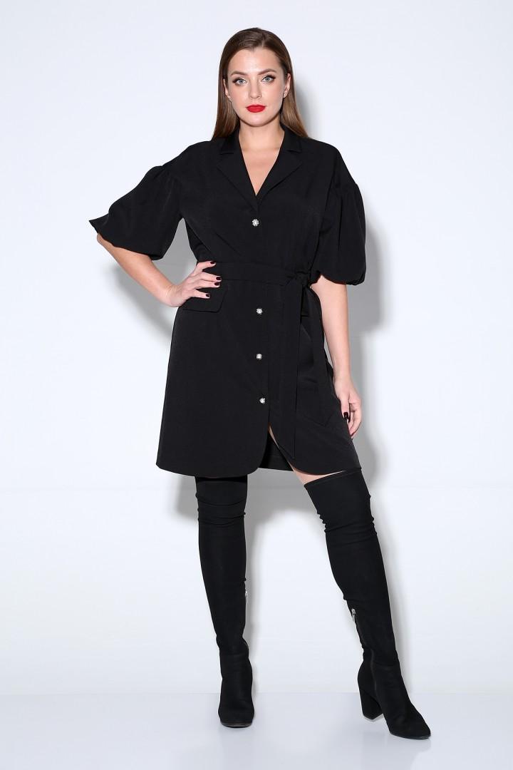 Платье Лиона-Стиль 814 черный