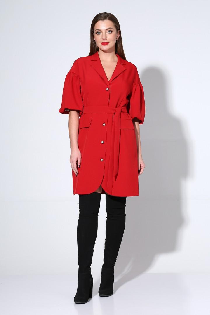Платье Лиона-Стиль 814 красный