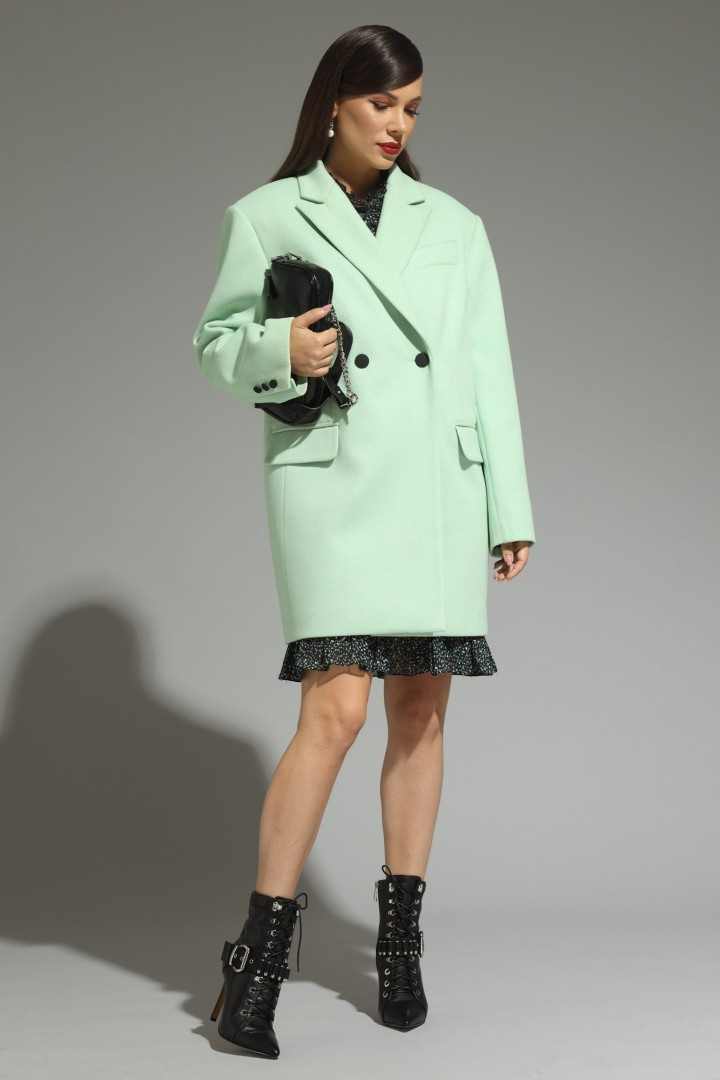 Пальто Магия Моды 1992 мята
