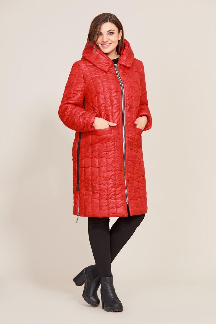 Пальто Магия Стиля 2256 красный