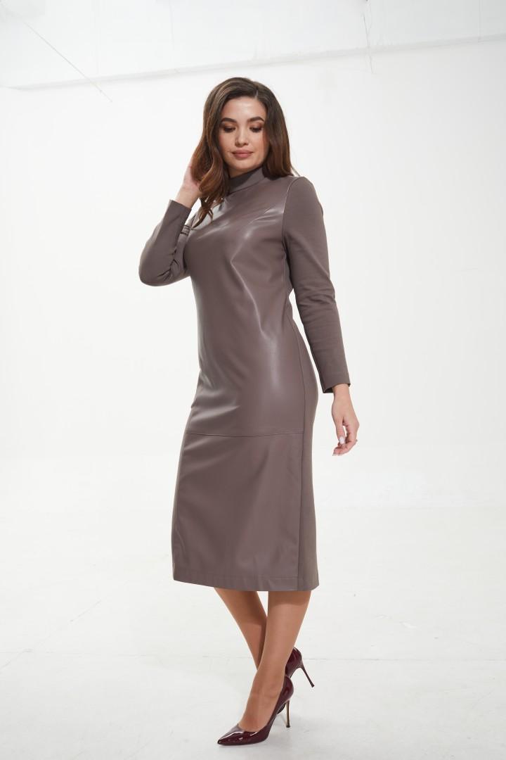 Платье MALI 421-104 какао