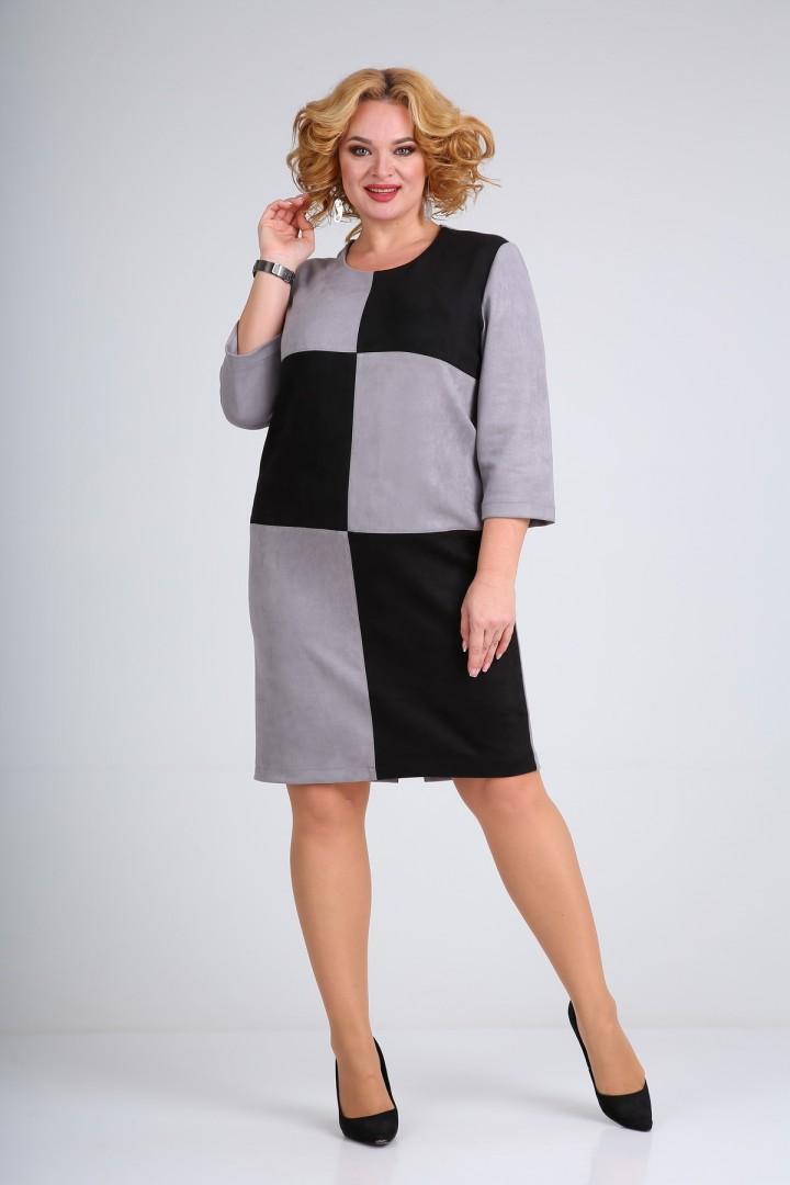 Платье MammaModa М-689/1 серый