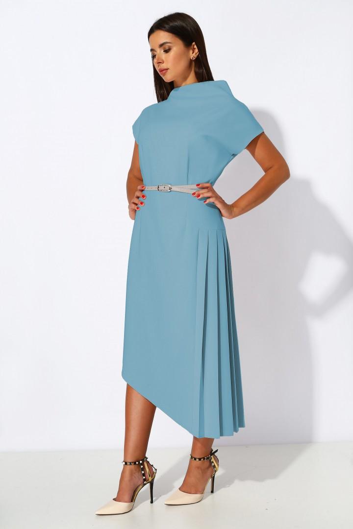 Платье МиА-Мода 1053-18 голубой