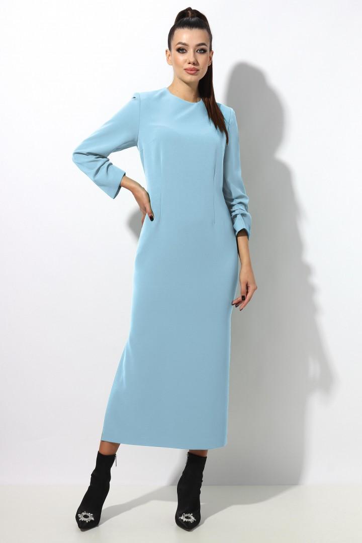 Платье МиА-Мода 1293-1  голубой