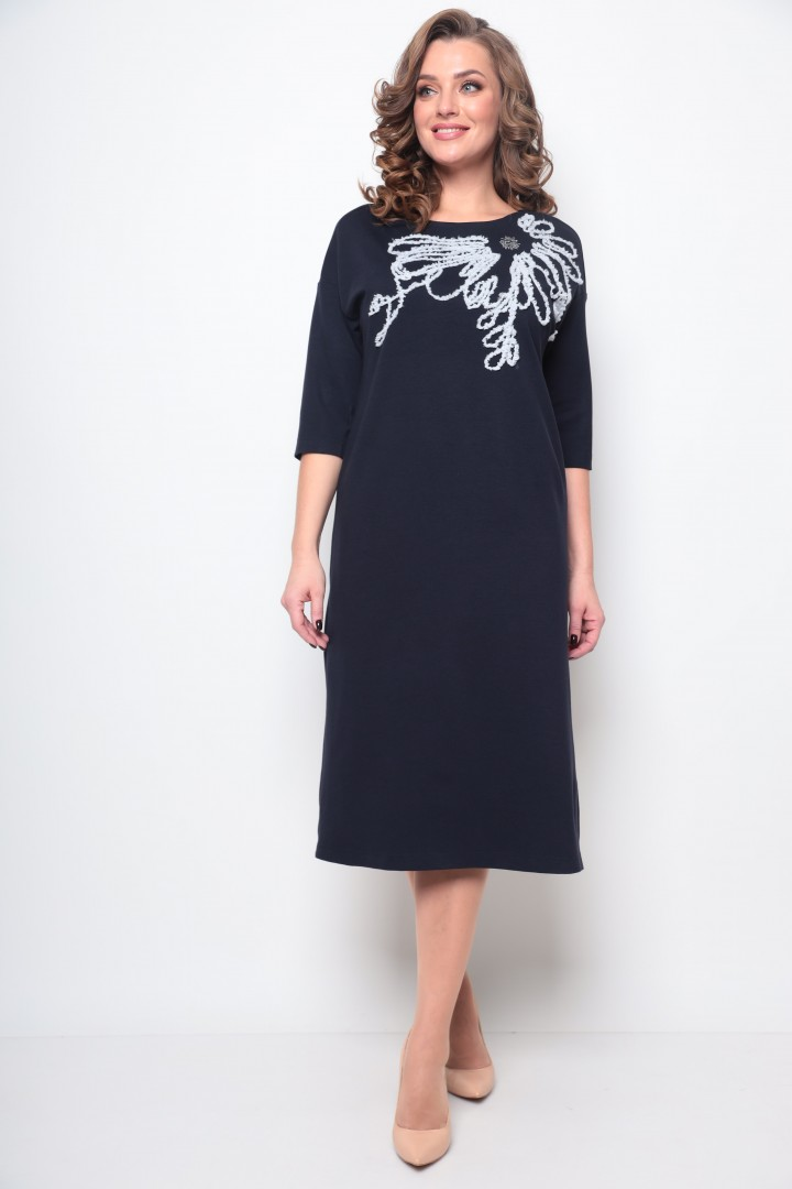 Платье Мишель Шик 2076 темно-синий