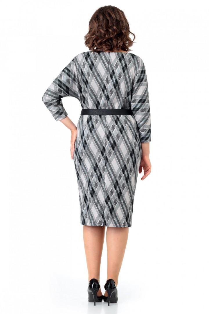 Платье МишельСтиль 1001 бежево-черный