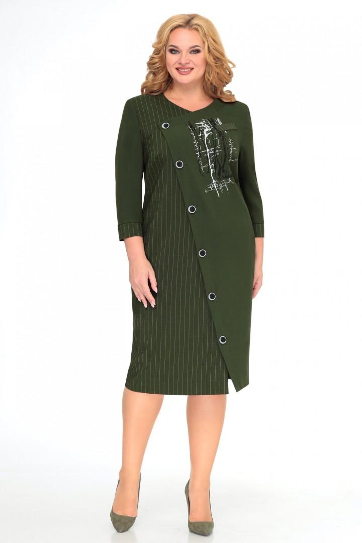 Платье МишельСтиль 992 зеленый