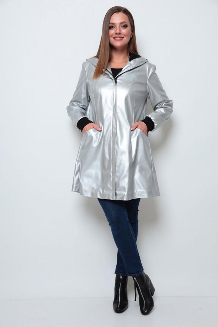 Куртка Мишель Шик 352 серебро