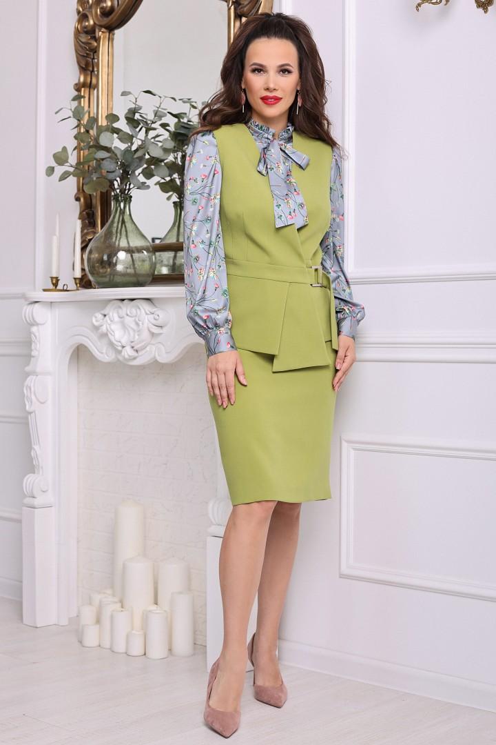 Комплект Мода-Юрс 2538 зелёный
