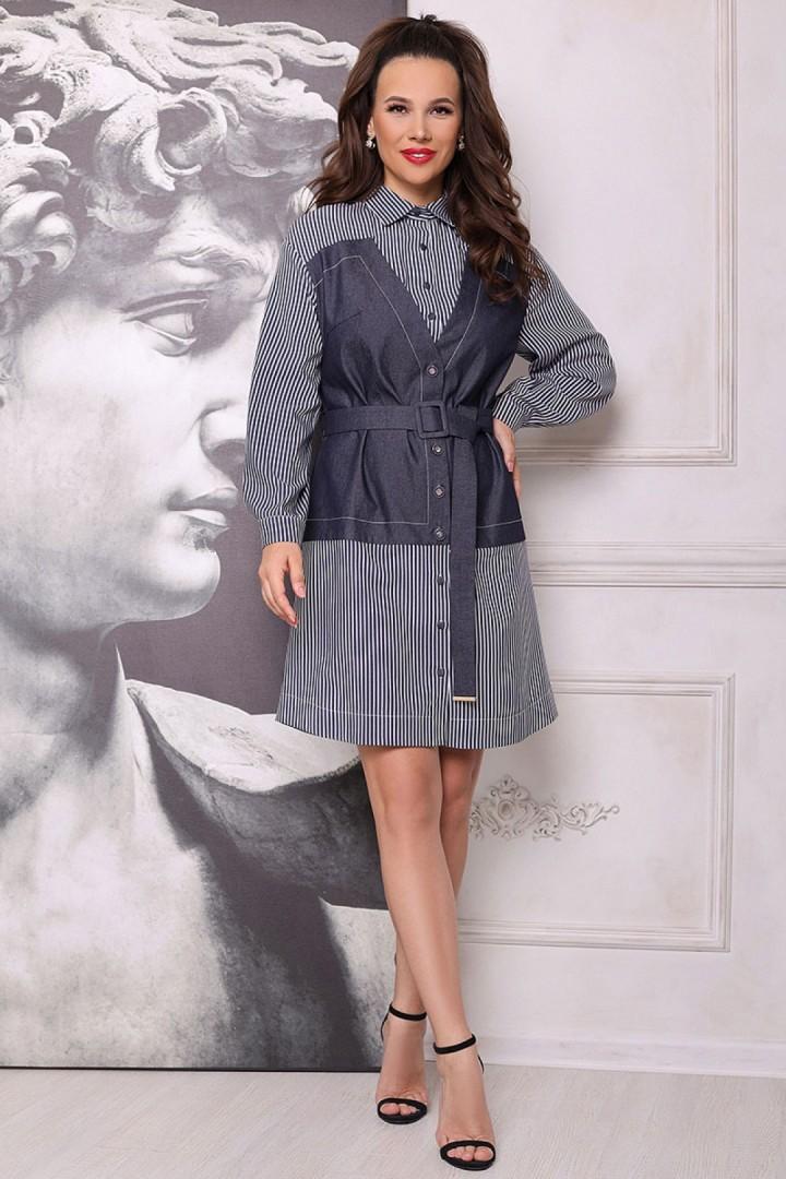 Платье Мода-Юрс 2697 джинс