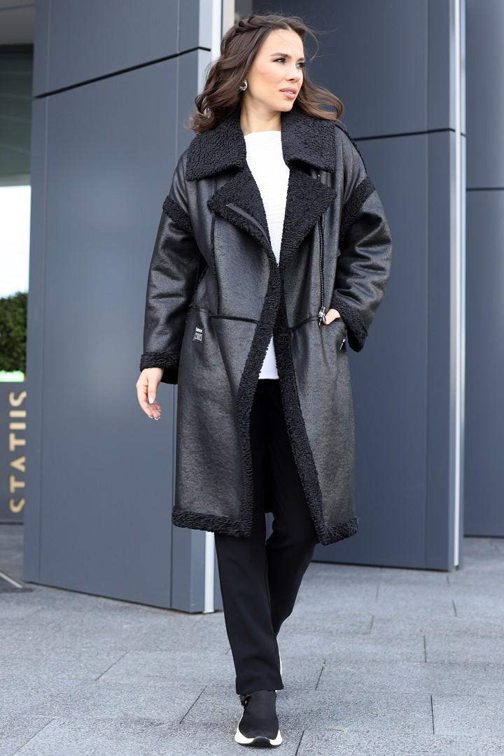 Пальто Мода-Юрс 2715 черный