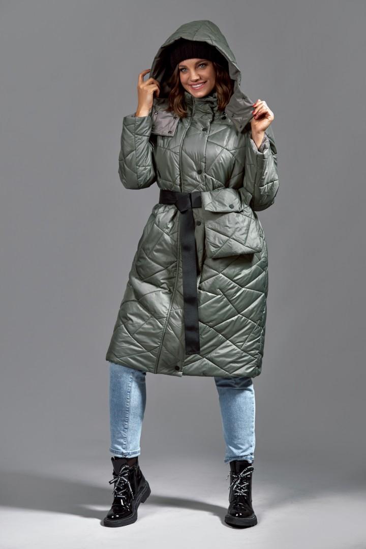 Пальто Мублиз 620 хаки