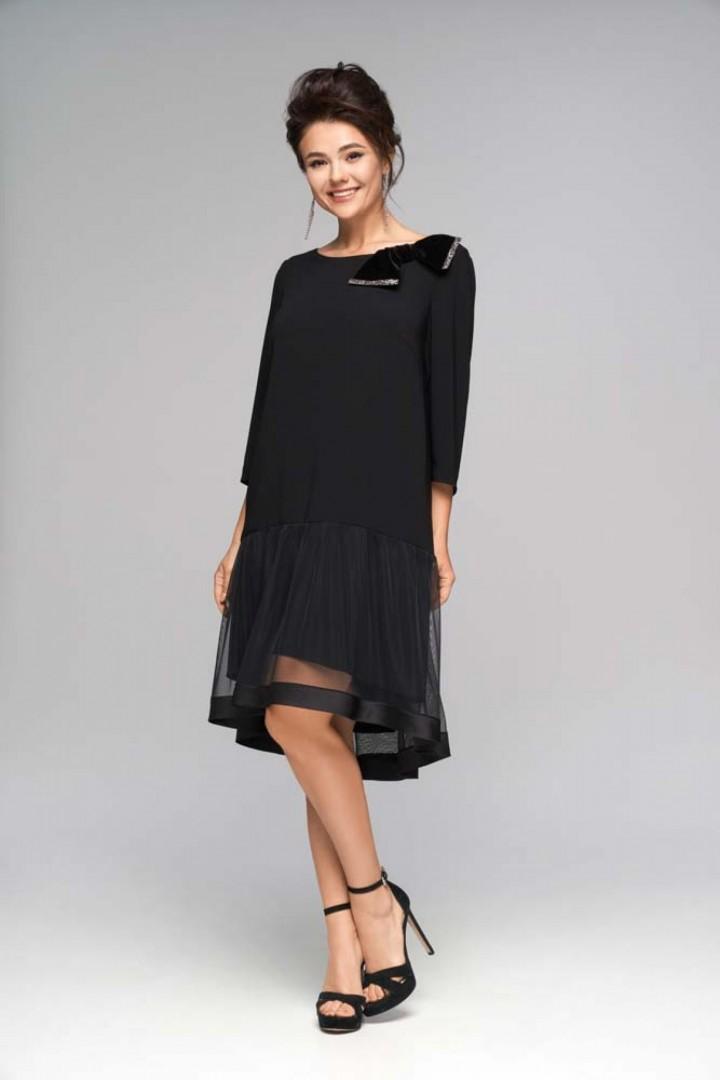Платье NIKA 5487 черный