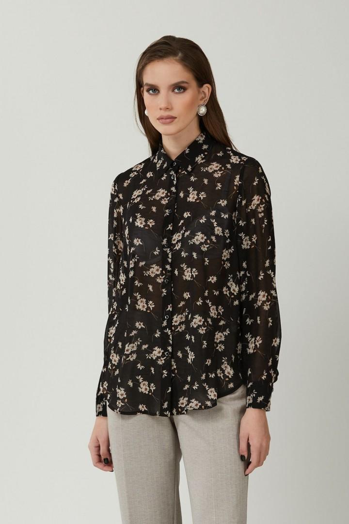 Блузка NIKA 8396 черный