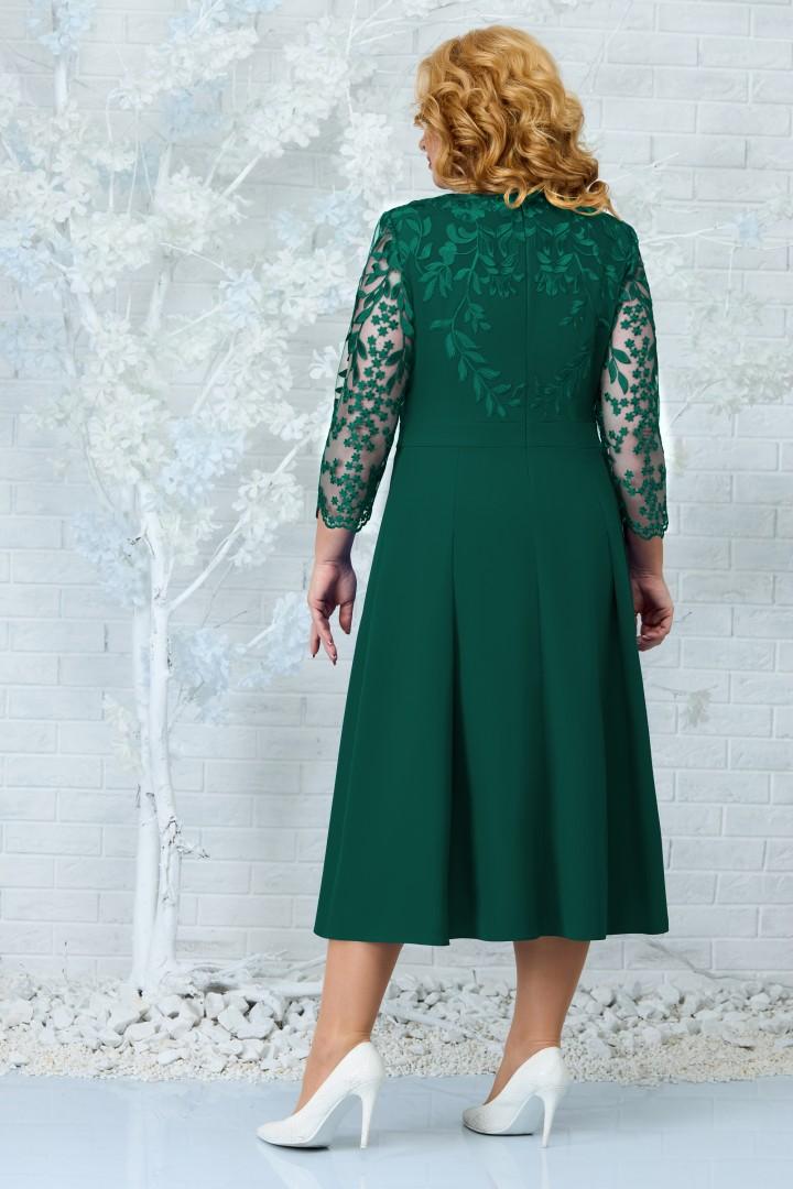 Платье Ninele 5847 изумруд