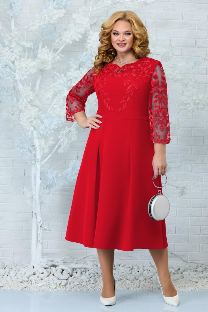 Платье Ninele 5847 красный