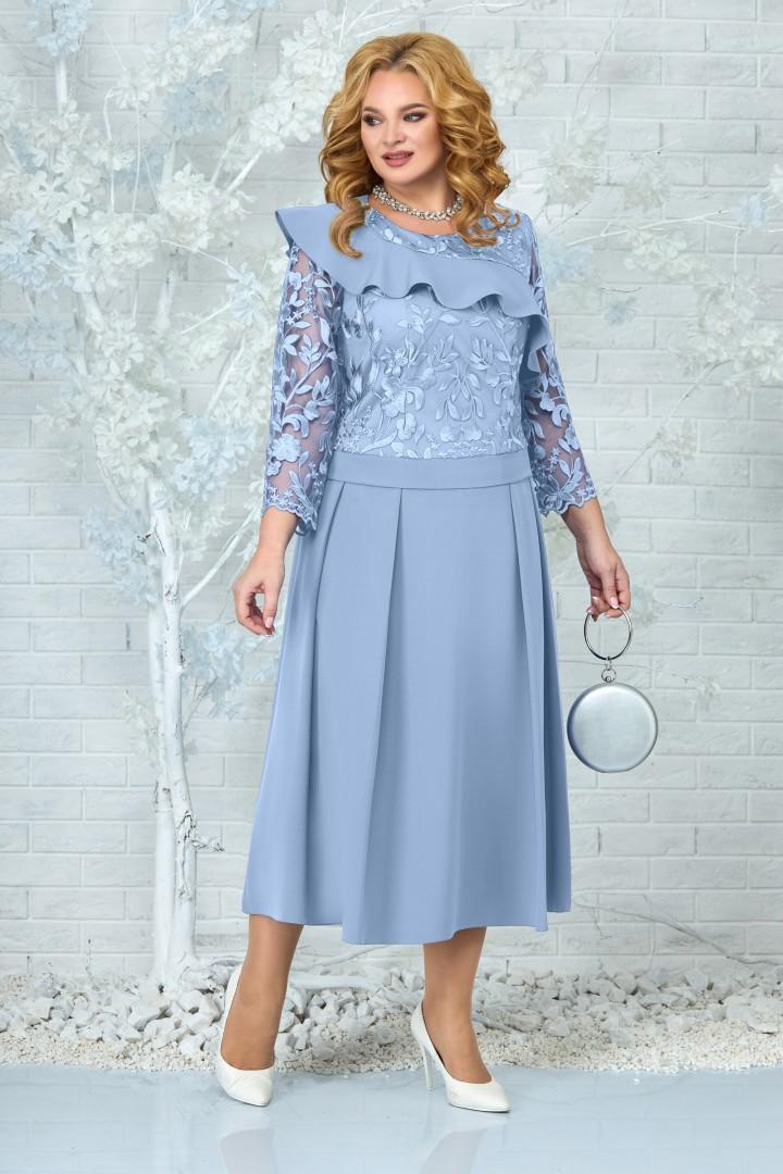 Платье Ninele 5849 голубой