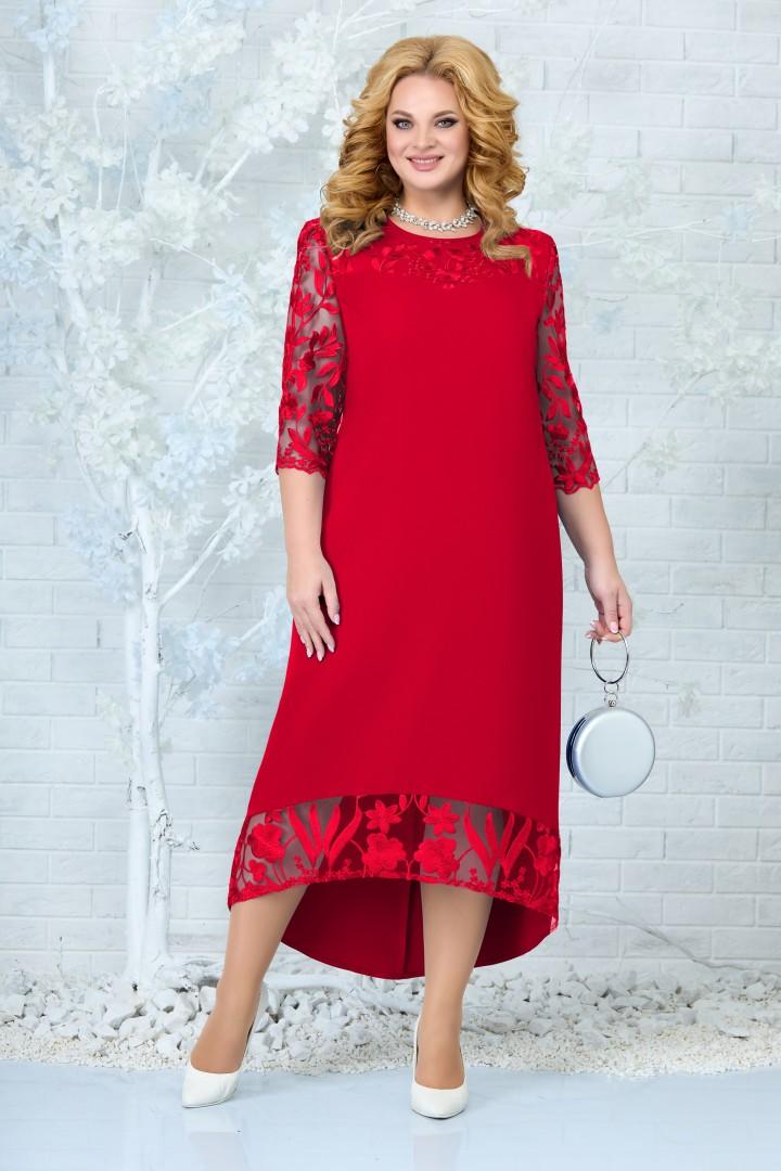 Платье Ninele 7335 красный
