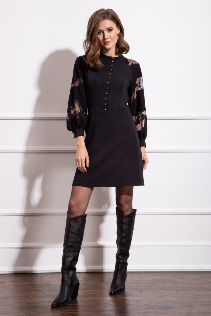 Платье Nova Line 50142 черный